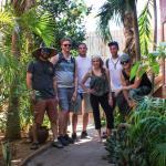 The group outside our bungalow!