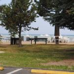Grounds - Beach area seen from parking lot