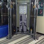 Multi-purpose resistance machine in the gym