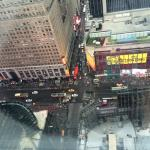 View from room 4102, 412st floor, Times Square