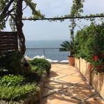 View of terrace and sea!