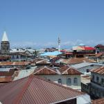 View of the Stone Town from the rooftop