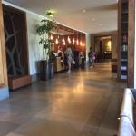 Lobby check-in area