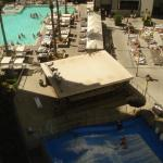 view of pool area from rm. 1541
