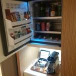 Mini-bar...and food...look but don't touch