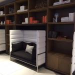 Cubby Areas in Lobby
