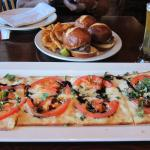 Delicious Flat Bread and Filet Mignoin Sliders