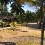 The beachside infront the Seaview Bungalow