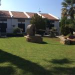 The beautiful grounds and GArden Villas
