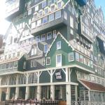 Inntel hotel zaandam/surrounding buildings and train station/inside our Craft Delux Room/ view f