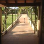 Path from Reception to Rooms
