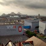 WWII Museum - view from my window