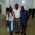 Last day in Swahili resort with the guest relations and entertainment manager Mr Alfred with the