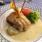 Coral Resto - Red Snapper in butter sauce