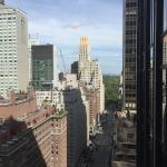 Day View from Balcony looking uptown to Central Park