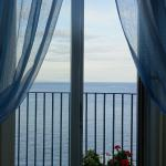 View of the Mediterranean Sea from the Blue Room