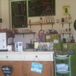 One of my favorite tucked away cafes in this area...serving excellent coffee always with a huge