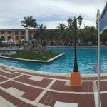 Panorama of the pool
