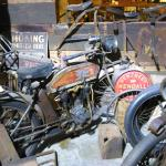 Old bikes and parts everywhere