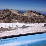 Pictures on the hike going up Lassen Peak. Cold and super windy but worth it!