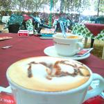 Cappuccino in the morning