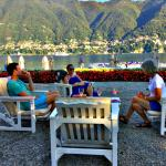 Afternoon respite at Villa d'Este on Lake Como