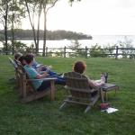 The Adirondacks were a popular place to relax