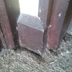 Dusty skirting boards
