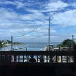 Nice view, good service and food.  Grits Ya Ya very good as was my fried shrimp platter.  Maggie
