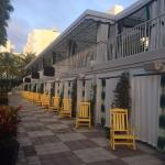 Cabanas and rocking chairs