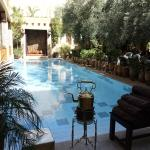 Riad pool/restaurant