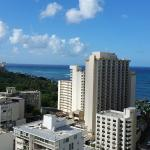 View from room 2070 Paoakalani Tower