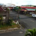 View from the balcony- Bocas is a little dilapidated