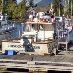 The Chinook Princess - Our fishing boat for the day