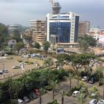 View from Sankara Hotel Nairobi