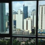 view of Makati from 23d floor