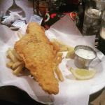 """The """"big"""" fish & chips!"""