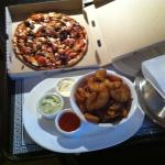 Pizza and wedges