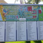 The resort directory and map