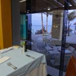 view from dinner