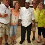 Us with Chef Manuel
