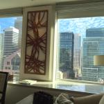 Room 1812 - Day view from king bed