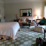 Our room at Omni Homestead Resort, Hot Springs, VA