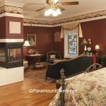 The Carriage House is a cottage setting and very private