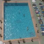 Pool view from roof top