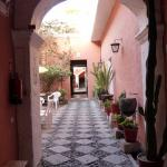 As you enter the hotel - multi-courtyards greet you