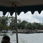 Fort Wilderness dock from the water.