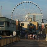 Boardwalk with Sky Wheel in the background
