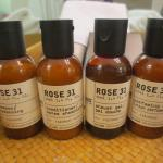 Bath products by Le Labo