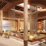 The lobby of the Andaz